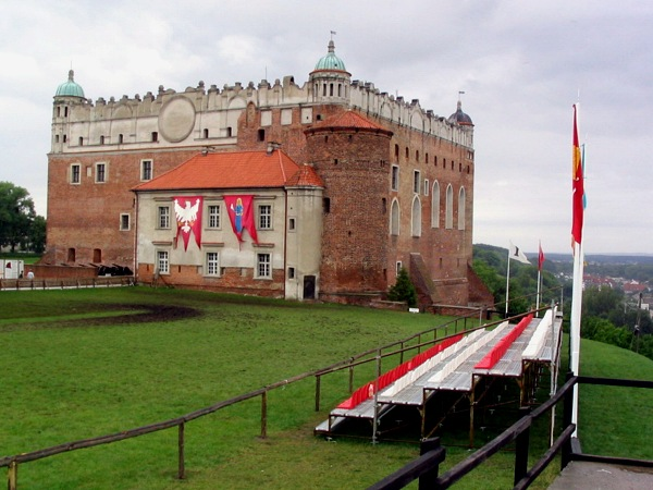golub dobrzyn castle knights tournament in poland