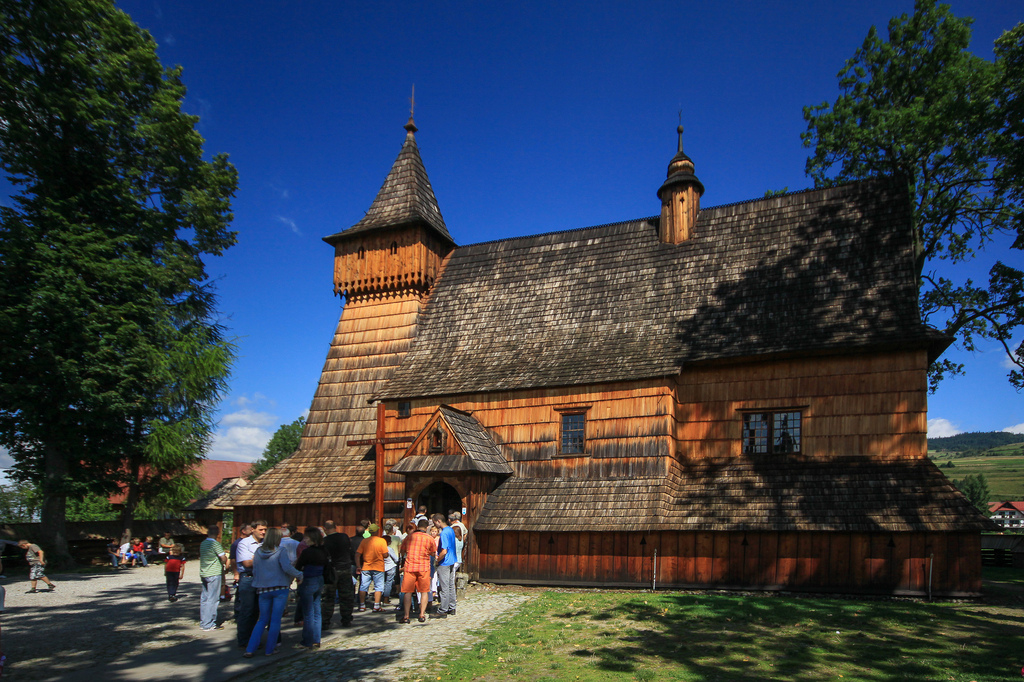 wooden churches in malopolska