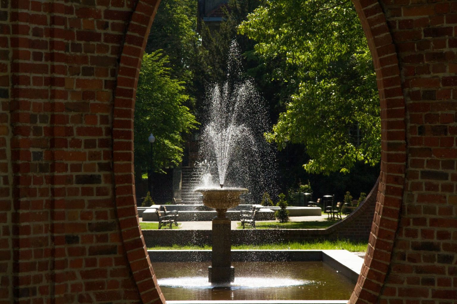 Japanese garden Iłowa, Poland