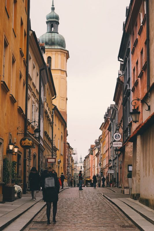 Warschau Altstadt Poland