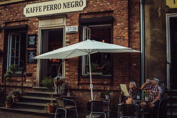 Cosy cafe in Gdańsk