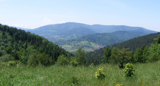 Hiking and cycling trails Beskids