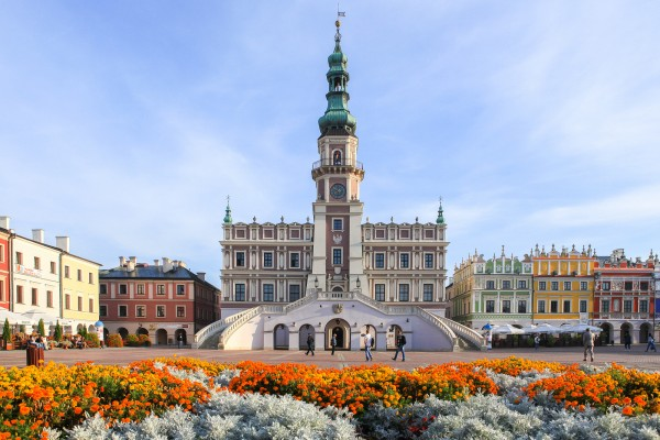 zamosc old town UNESCO world heritage site World Heritage List